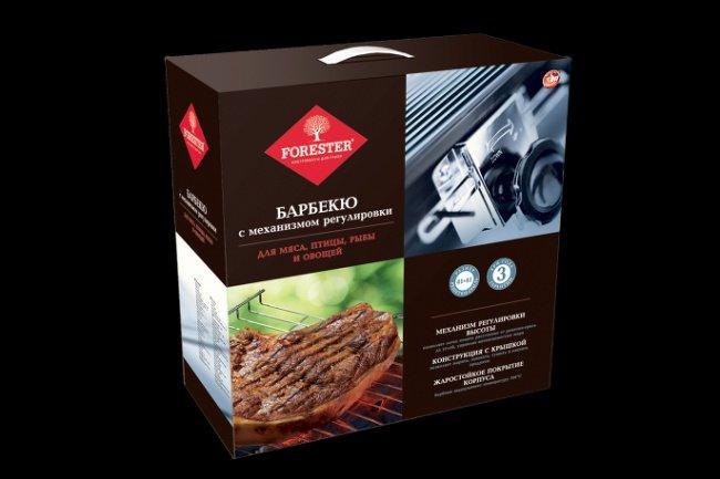 Барбекю с крышкой и регулируемой решеткой forester 5111-18 отзывы из какого кирпича складывают уличную печь барбекю